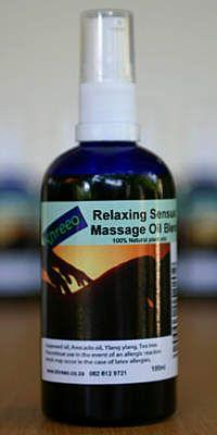 Relaxing/Sensual Massage Oil with ylang ylang 100ml.
