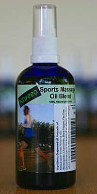 Khreeo Sports Massage Oil 100ml